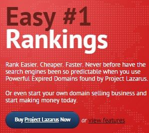 Project Lazarus Expired Domain Crawler – Easy First Ranking in Google Including Majestic SEO and SeoMOZ Domain Metrics Automatically Whenever An Expired Domain is Found..  Check Detail => http://www.releasedl.com/project-lazarus-expired-domain-crawler-review/