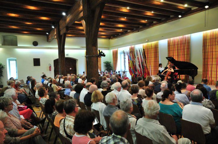 Concert à 12h30 au Koïfhus - Le Festival international de Colmar (www.festival-colmar.com) - B. Fruhinsholz