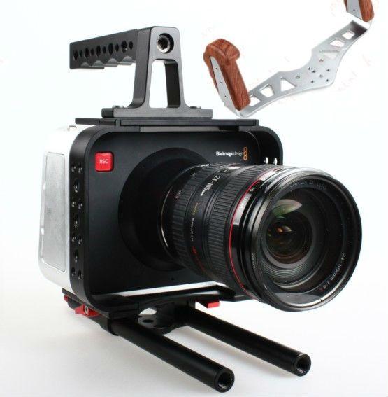 198.29$  Watch here - http://ali5hq.worldwells.pw/go.php?t=32386181868 - Sunrise fly holder BMCC Cage BMCC RIG Black magic cinema camera cage