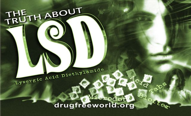 Official Foundation for a Drug-Free World Website, LSD Addiction and Effects and What It Is