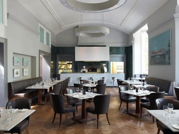 The Montpellier Chapter Restaurant is located in the stylish #Cheltenham hotel.
