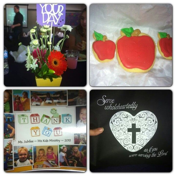 51 best images about Sunday school appreciation on ...