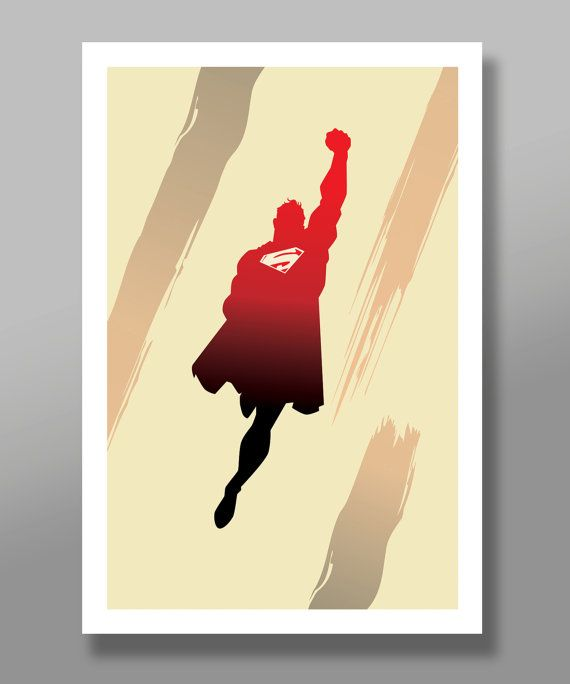 Batman VS. Superman affiche minimaliste Set par BigTimePosters