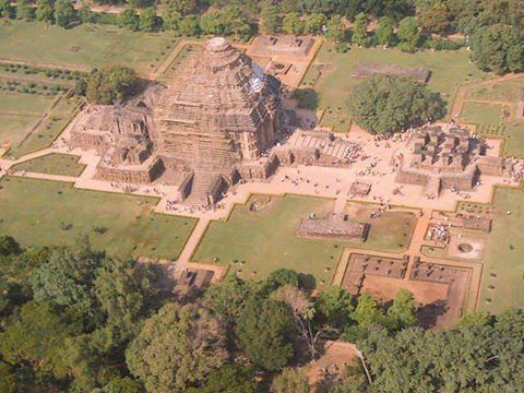 Konark is most famous for being the site of the 13th-century Sun Temple (also known as the Black Pagoda), built in black granite by King Narasimhadeva-I of the Eastern Ganga Dynasty. The temple is a UNESCO World Heritage Site and therefore very carefully preserved by government authorities both at central and state level. The temple itself takes the form of the grand chariot of Surya (Arka), the sun god, and is heavily decorated with stone carving.