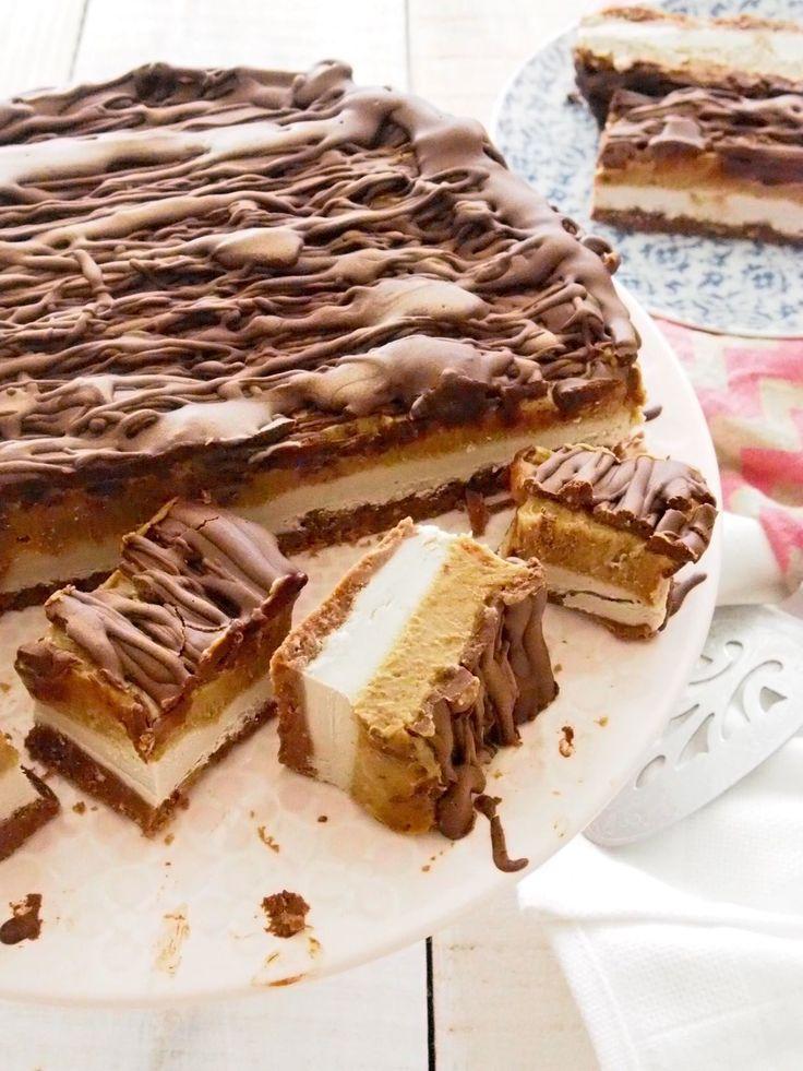 Vegan Paleo Mars Bar Cake