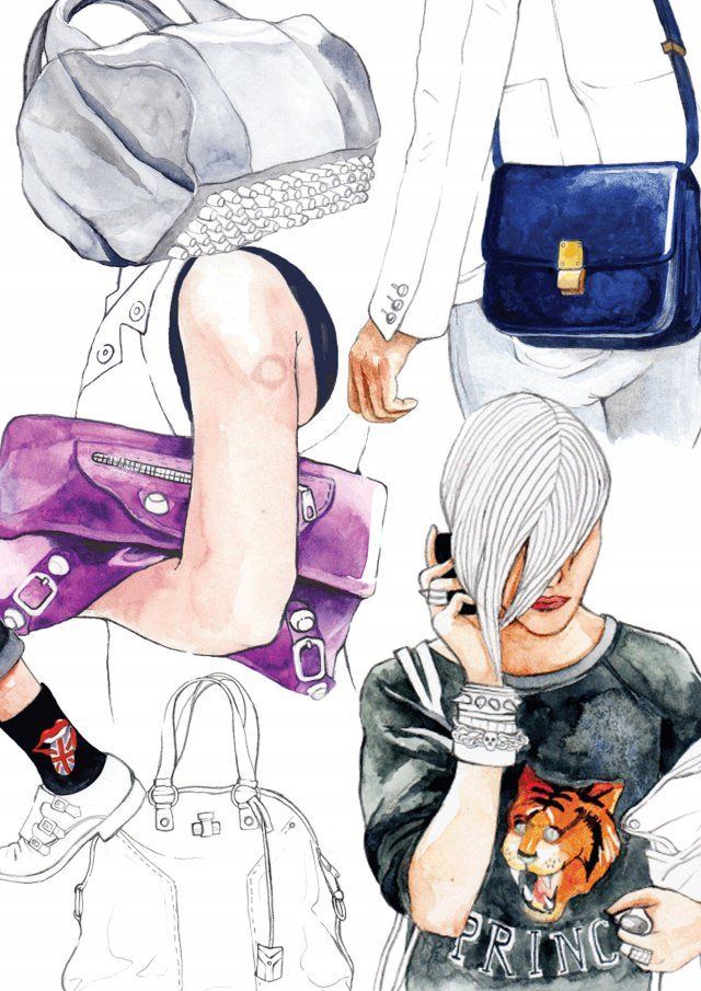 Paul Rabrabhi: Paul Rabrabhi, Style Illustrations, Art Inspiration, Street Style, Fashion Accessories, Doce Paul, Drawings Inspiration, Fashion Illustrations, Accessories Illustrations