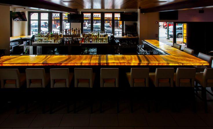 #bar #resturant #onyx #amber #gold #luxury #delraybeach #atlanticave #salt #salt7 #saltseven #southflorida #natureofmarble #southflorida #natural #stone #onyxcounter #counter #onyxbar