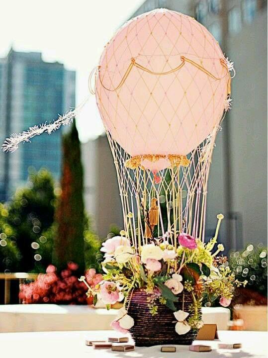Inspiración en globos aerostáticos #WeddingBroker