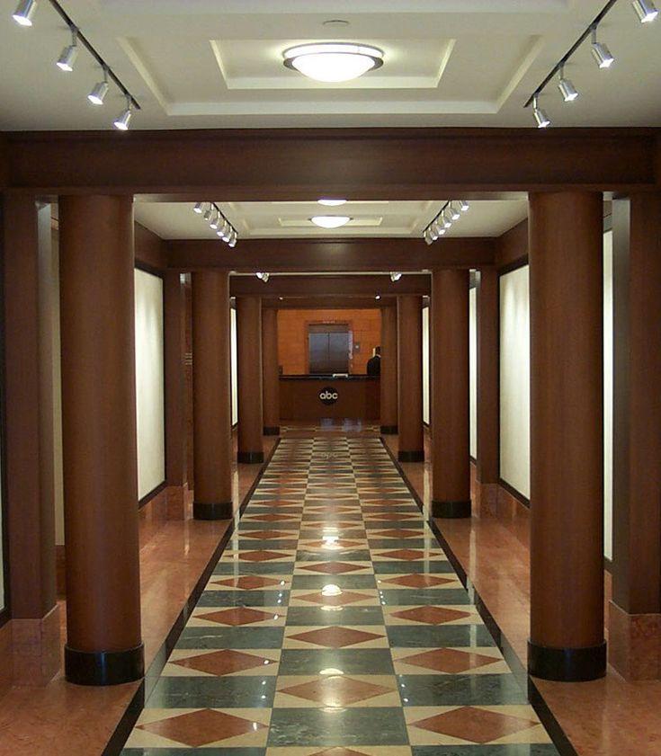 Abc, entry corridor