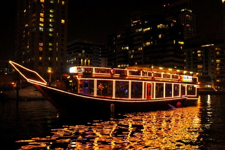 #GalaxyTourism Offers #Dubai Dinner at #MarinaDhowCruise Tour Packages 2016. Enjoy romantic boat ride and buffet dinner around the marina. http://goo.gl/8EA0NC