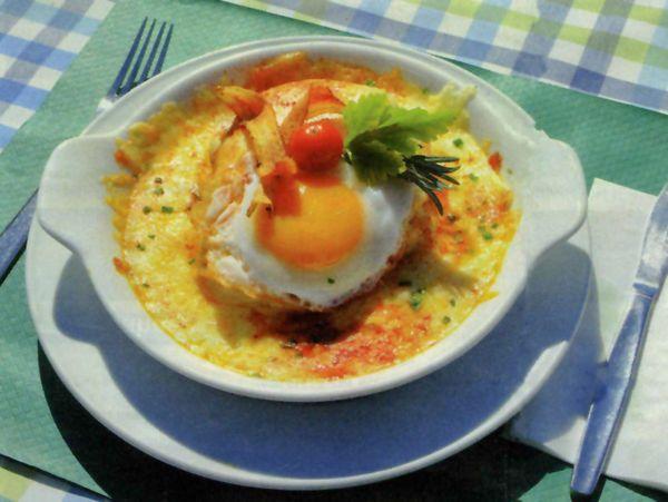 Käseschnitte (Swiss cheese on toast)