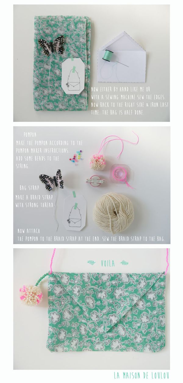 Liberty Bag... DIY by Marie-Laure of La Maison de Loulou// petitapetitandfamily.com