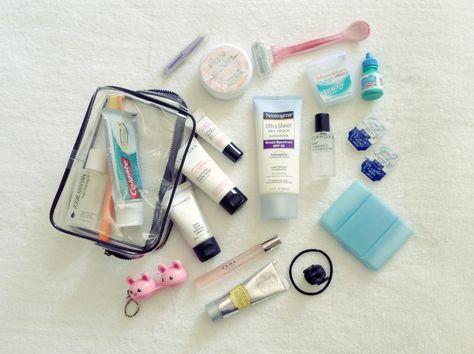 Necessaire de Viagem #3 + Check-list para Download | New in Makeup