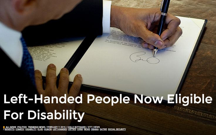 Are Lefties Now Eligible For Disability? #kennesaw #kennesawstate #kennesawstateuniversity
