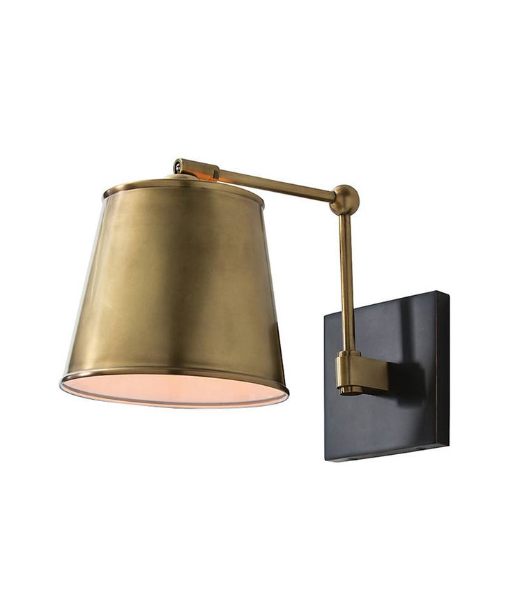 Watson Sconce, Antique Brass U0026 Bronze   Antique Brass Finish With Bronze  Accents