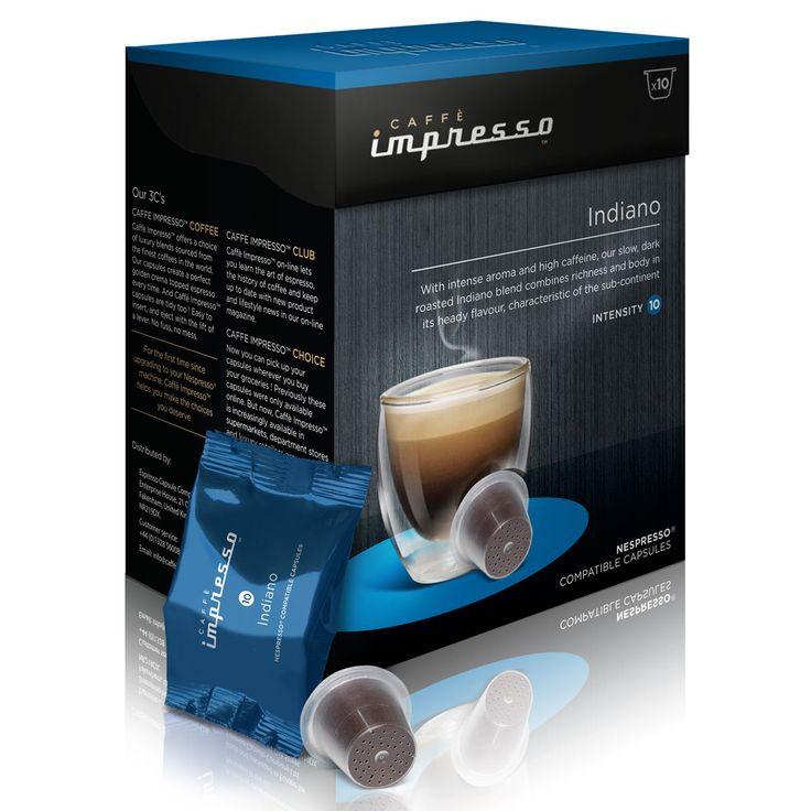 Personal Edge : Caffè Impresso 050155 Indiano capsules
