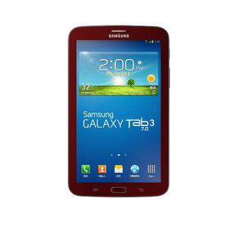 Tableta Samsung Galaxy Tab 3 T211 16Gb + 3G Red | 7 inch 600 x 1024 pixeli
