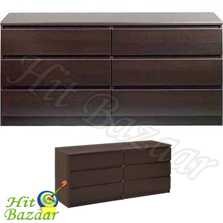 This Bedroom Storage Dresser Chest Furniture is space saving organizer for your bedroom. With durable wood construction, it features 6 drawers for storage. Assembly required. Bedroom Storage Dresser Chest Furniture. | eBay!