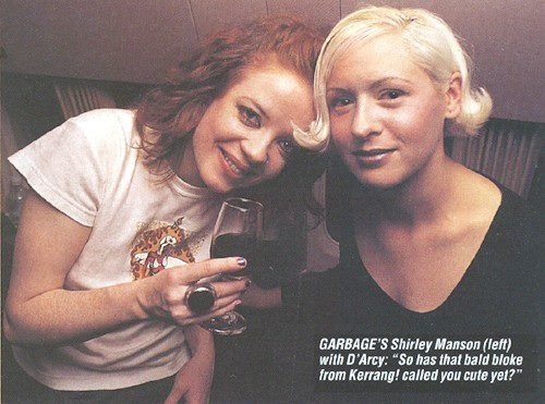 Shirley Manson & D'arcy Wretzky