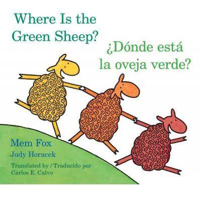 Where is the Green Sheep - Board Book