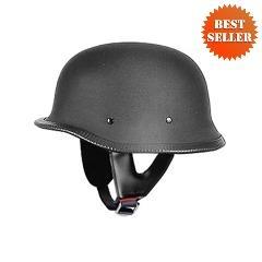 German Helmets - DOT German Motorcycle Helmet 115 Matt