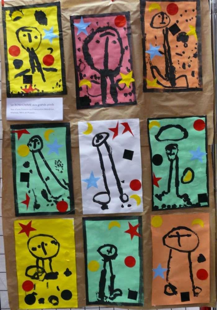Expos d'école autour des peintres