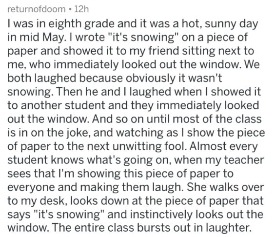 17 People Share Their Best Read The Notes To The Class Stories – cool