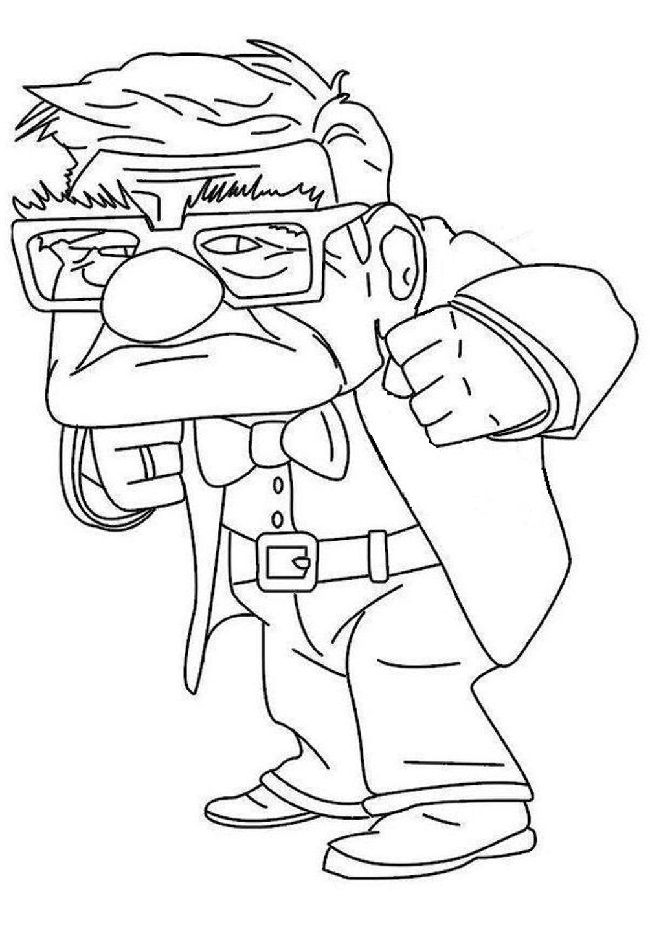 """Up Movie Coloring Pages: Here are ten """"Up"""" coloring sheets ..."""