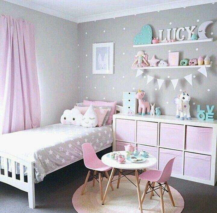 Such a cute girls room