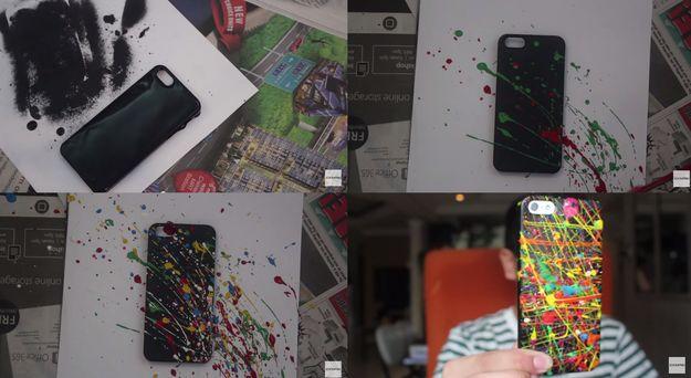 Paint splatter case