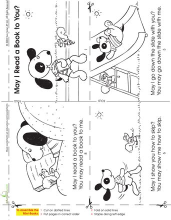 free worksheets from educationcom make a story book cute simple mini - Printable Kindergarten Books