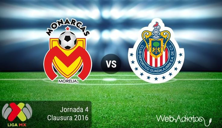 Morelia vs Chivas, Jornada 4 del Clausura 2016 ¡En vivo por internet! - https://webadictos.com/2016/01/30/morelia-vs-chivas-clausura-2016/?utm_source=PN&utm_medium=Pinterest&utm_campaign=PN%2Bposts