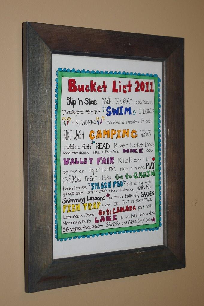 Summer Bucket List: Summer Bucket Lists, Frames, Summer Activities, New Years Activit For Kids, Neat Ideas, Crosses, Summer Buckets Lists, Families, Crafts