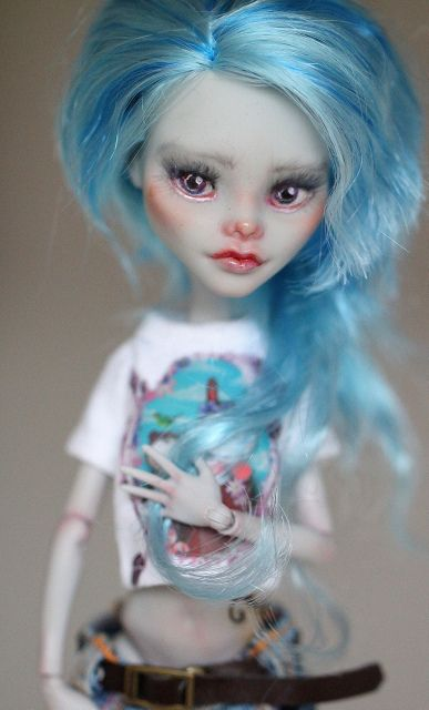 monster high - custom ghoulia