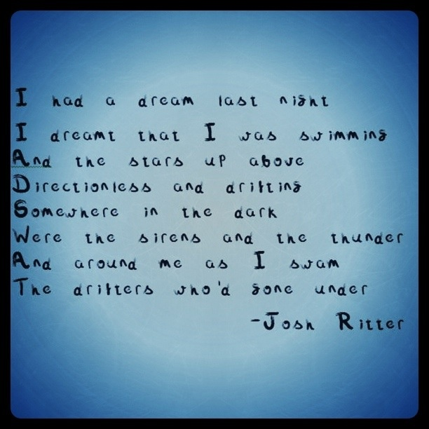 Change of Time - Josh Ritter