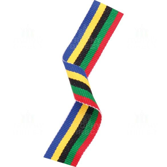 olympic themed medal ribbon