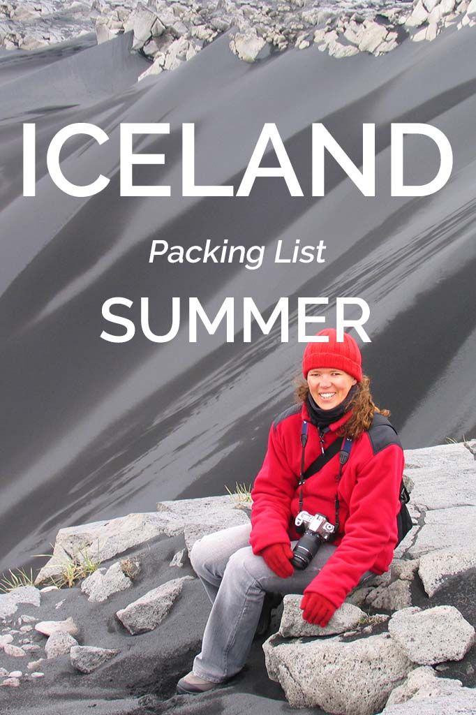 With average July temperatures of 10°C (50°F), summer is a relative term in Iceland. Find out what to wear and what to pack for Iceland in summer and travel well prepared. Save now, read before you travel!