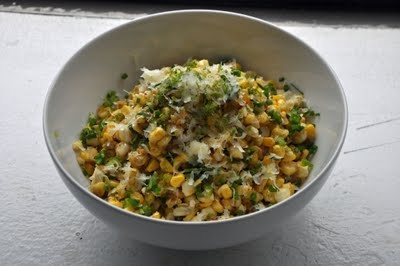 Roasted Corn with Manchego and Lime | Side Dishes | Pinterest | Limes