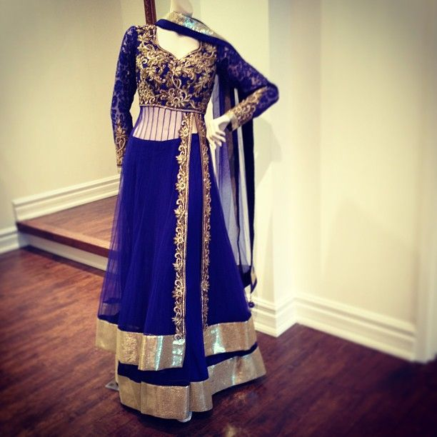 stunning royal blue outfit by CTC West