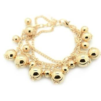 Gold Beads Bracelet · BFF Boutique · Online Store Powered by Storenvy