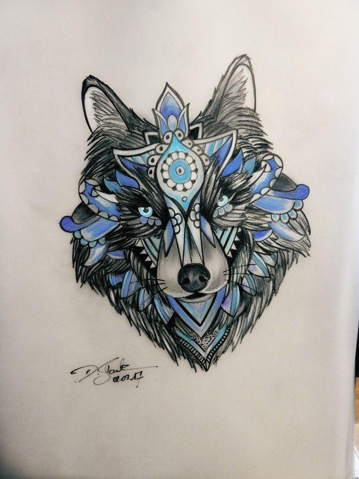 best 25 mandala wolf ideas on pinterest animal mandala. Black Bedroom Furniture Sets. Home Design Ideas