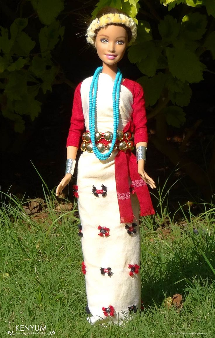Nyishi attire for Barbie dolls