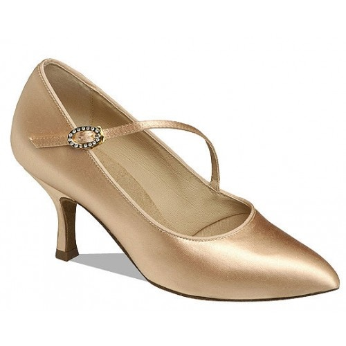 Supadance 1004  The Classic pointed toe court shoe with diagonal strap. Regular fitting.  Price: 97.20€