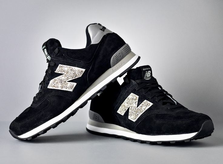 Todd Snyder's Swarovski + New Balance. Available at Five Story in NYC.  Limited edition