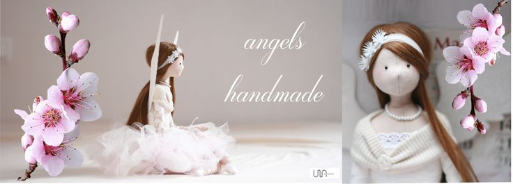tilda dolls handmade angel angel doll