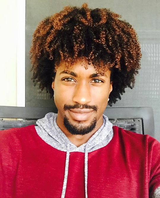 Curly Black Mens Hairstyles Stunning 293 Best Black Male Hair Images On Pinterest  Afro Men Coily Hair