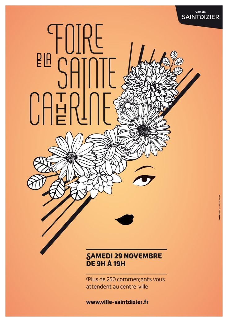 Foire Sainte Catherine, samedi 29 novembre 2014. De 9h à 18h à Saint-Dizier. Plus de 250 commerçants vous attendant au centre-ville.