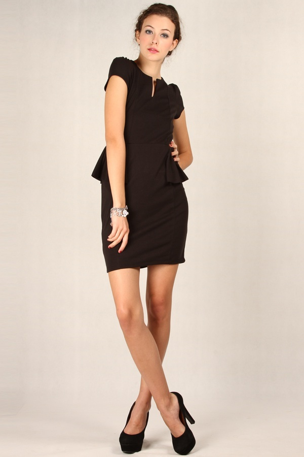 Wilma Dress Black www.pinkemma.com