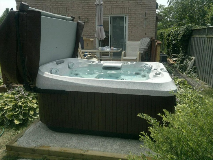 13 best Hot Tub Installation Ideas images on Pinterest | Whirlpool ...
