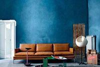 Un canapé en cuir généreux - 15 canapés cuir pour salon design - CôtéMaison.fr
